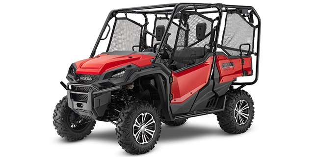 2019 Honda Pioneer 1000-5 Deluxe Black at Nishna Valley Cycle, Atlantic, IA 50022