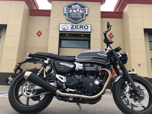 2019 Triumph Speed Twin Base at Fort Myers