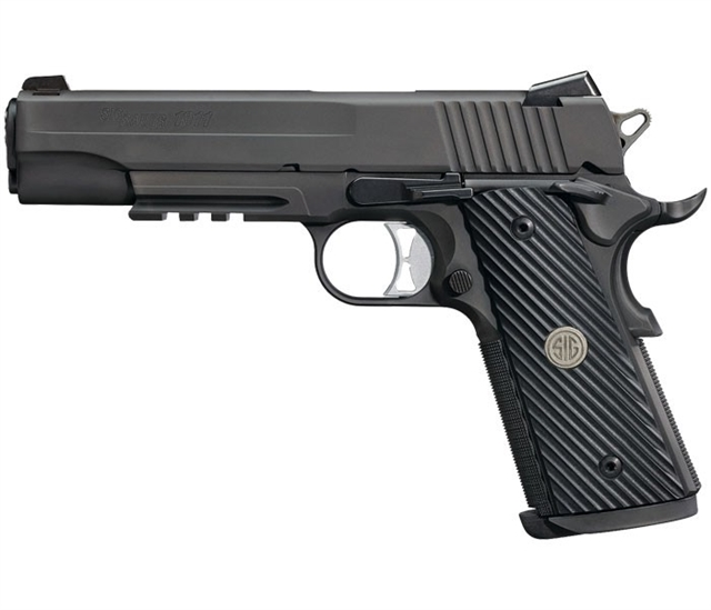 2019 Sig Sauer 1911 TACOPS Full-Size at Harsh Outdoors, Eaton, CO 80615