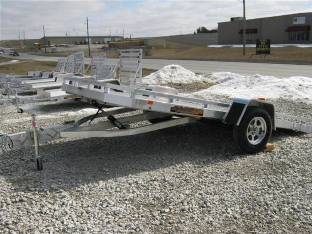 2020 Aluma 7712H Tilt 7712 Utility Trailer at Nishna Valley Cycle, Atlantic, IA 50022