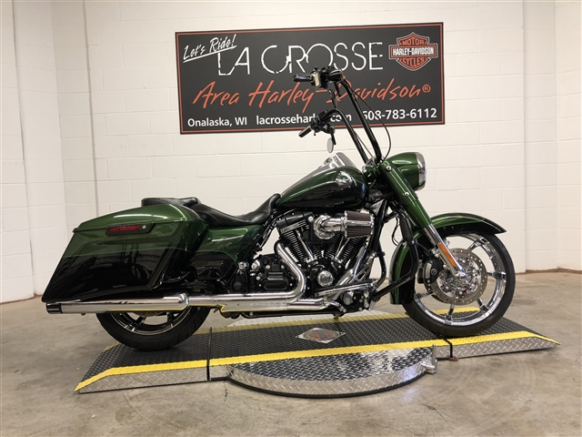 2014 Harley-Davidson Road King CVO Road King at La Crosse Area Harley-Davidson, Onalaska, WI 54650
