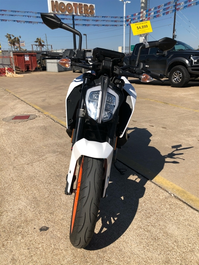 2019 KTM Duke 390 at Wild West Motoplex