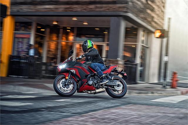 2021 Kawasaki Ninja 650 ABS at Hebeler Sales & Service, Lockport, NY 14094