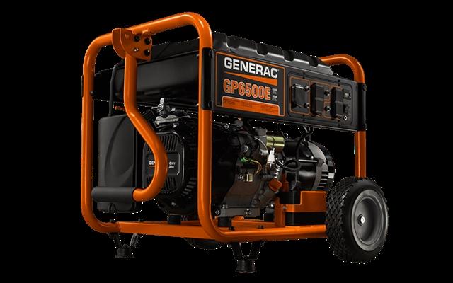 2016 GENERAC Portable Generators GP Series GP6500E at Harsh Outdoors, Eaton, CO 80615