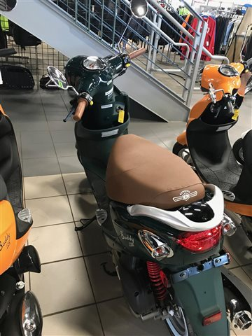2018 Genuine Scooter Co. Buddy 170i at Rod's Ride On Powersports, La Crosse, WI 54601