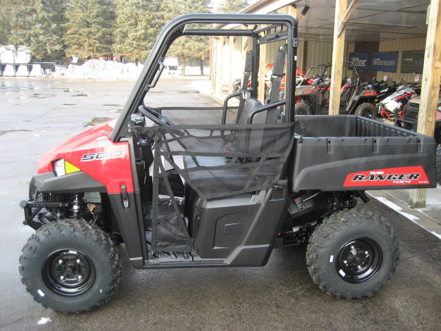 2019 Polaris Ranger 500 Solar Red at Fort Fremont Marine, Fremont, WI 54940