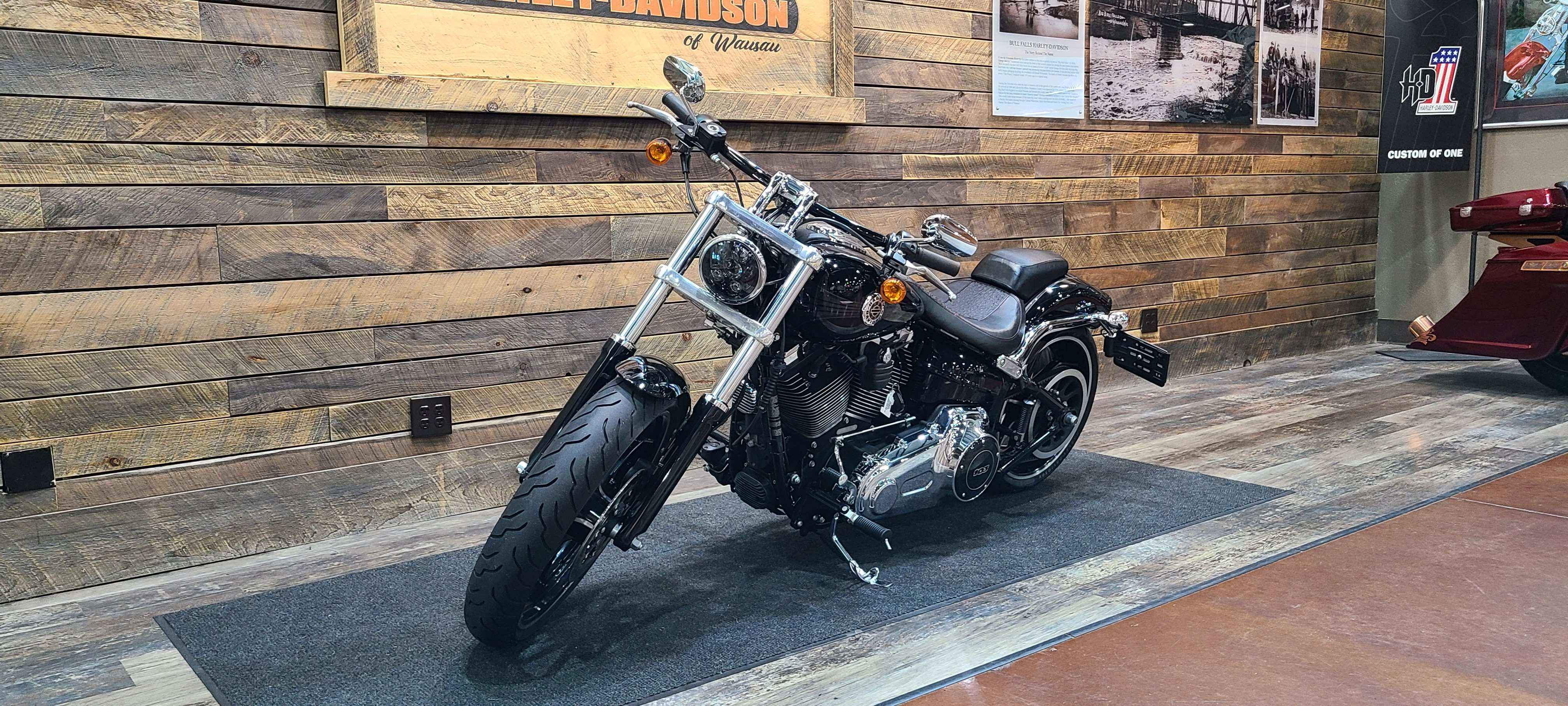 2014 Harley-Davidson Softail Breakout at Bull Falls Harley-Davidson