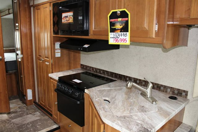 2019 Coachmen Leprechaun 311FS Rear Bedroom at Campers RV Center, Shreveport, LA 71129