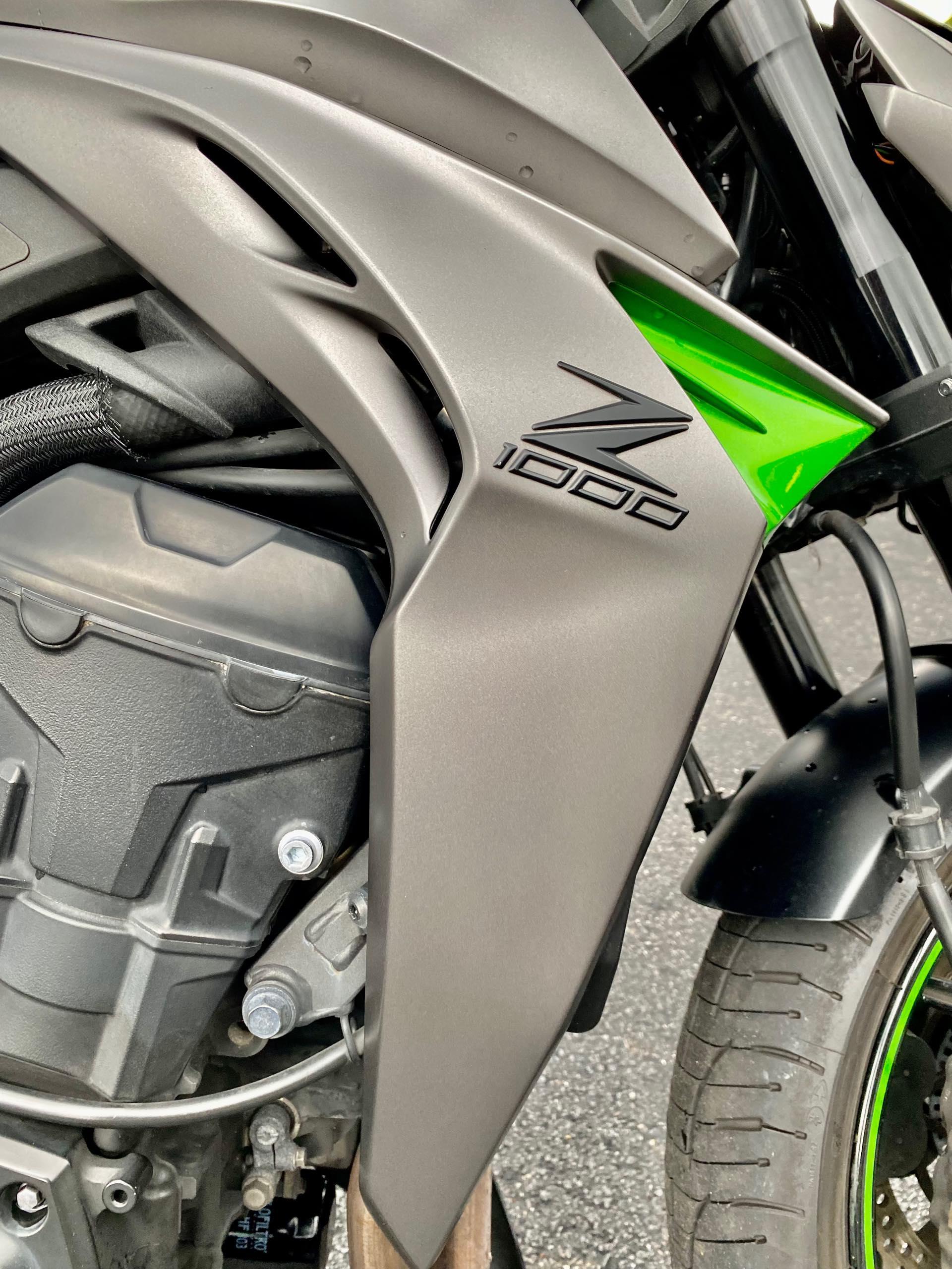 2016 Kawasaki Z 1000 ABS at Tampa Triumph, Tampa, FL 33614