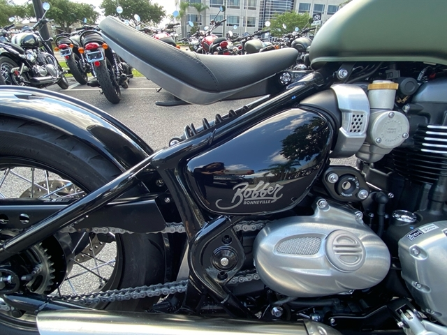 2020 Triumph Bonneville Bobber Base at Tampa Triumph, Tampa, FL 33614