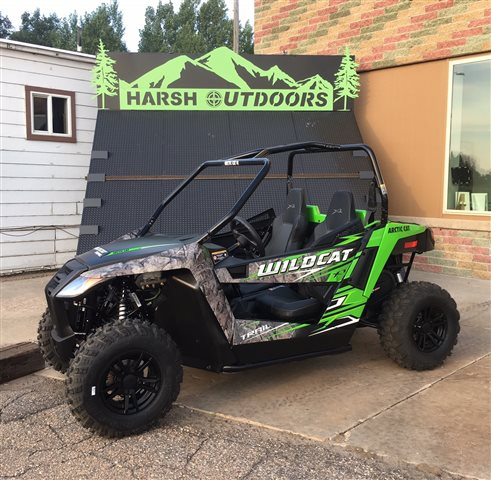 2017 Arctic Cat Wildcat Trail XT EPS at Harsh Outdoors, Eaton, CO 80615