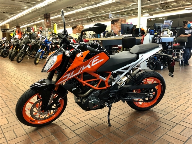 2020 KTM Duke 390 at Wild West Motoplex