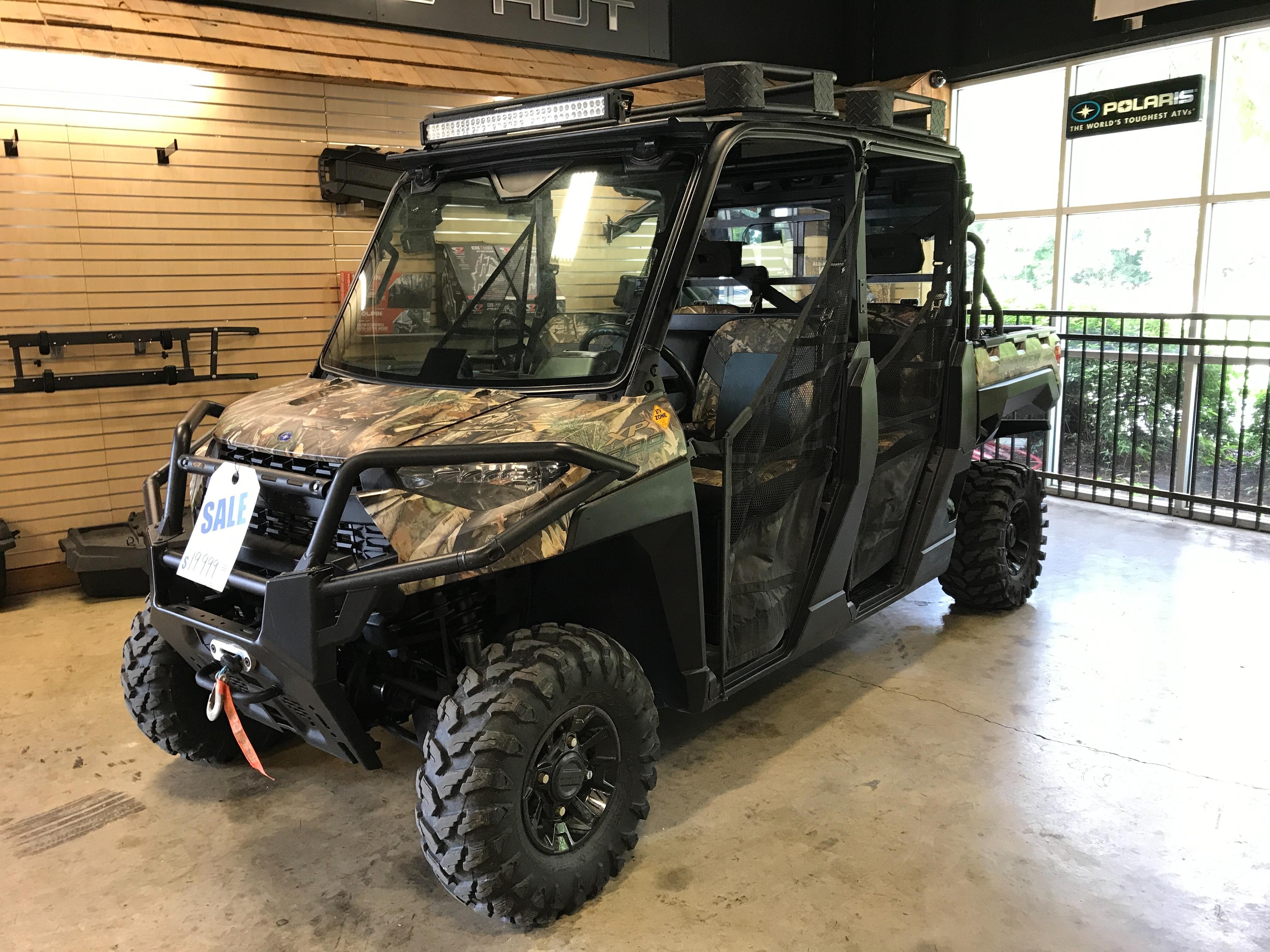 2019 Polaris Ranger xp 1000 EPS Premium Polaris Pursuit Camo at ATV Zone, LLC