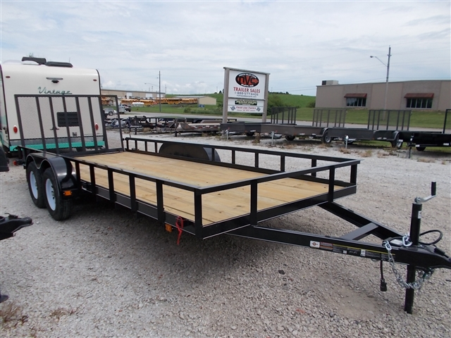 2018 Carry On 7X18GW2BRK 7000 LB GVWR at Nishna Valley Cycle, Atlantic, IA 50022