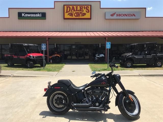 2017 Harley-Davidson Softail Fat Boy S at Dale's Fun Center, Victoria, TX 77904
