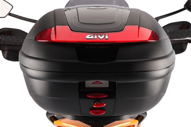2019 ZERO TOP BOX BY GIVI AND RACK KIT at Randy's Cycle, Marengo, IL 60152