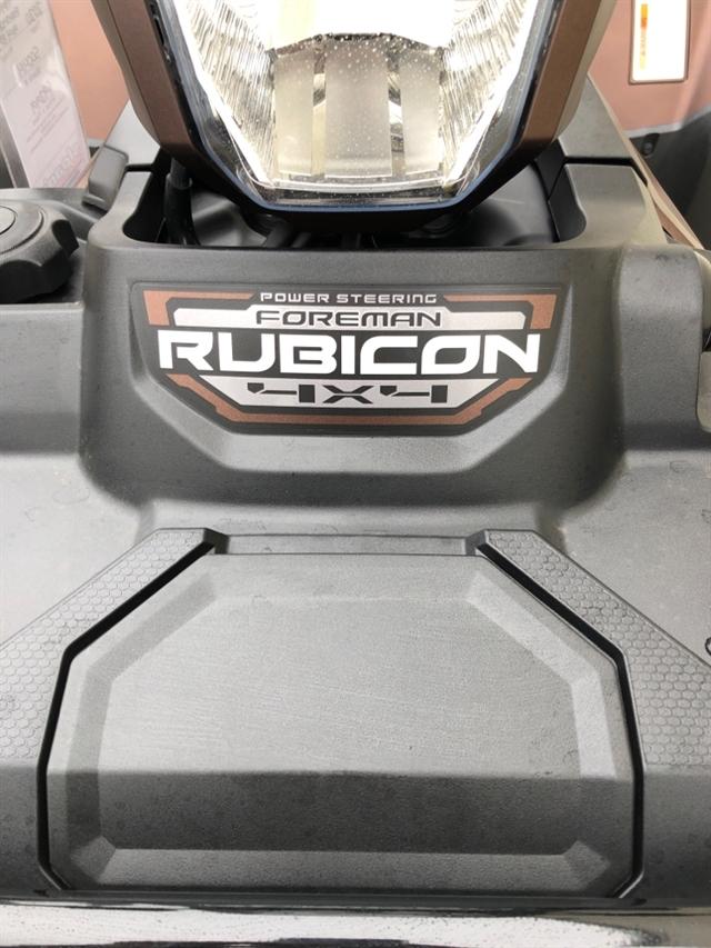 2020 Honda FourTrax Foreman Rubicon 4x4 EPS at Sloans Motorcycle ATV, Murfreesboro, TN, 37129