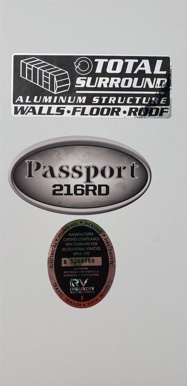 2019 Keystone Passport SL Series 216RD at Nishna Valley Cycle, Atlantic, IA 50022