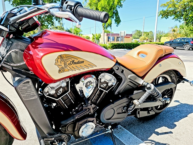 2020 Indian Scout Base at Fort Lauderdale
