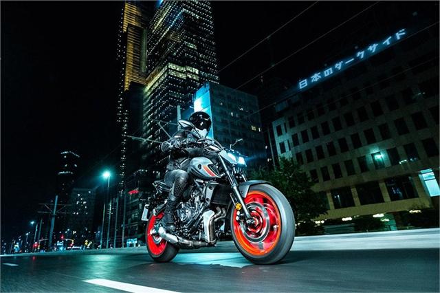 2021 Yamaha MT 07 at Wild West Motoplex