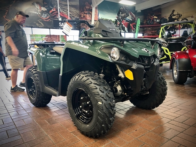2021 Can-Am Outlander 450 at Wild West Motoplex