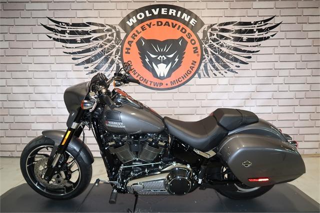 2021 Harley-Davidson Cruiser FLSB Sport Glide at Wolverine Harley-Davidson
