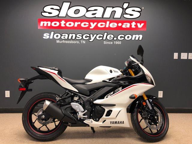 2019 Yamaha R3 ABS YZFR3AKW at Sloans Motorcycle ATV, Murfreesboro, TN, 37129