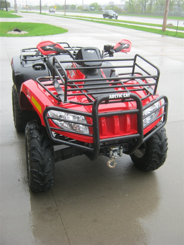 2014 Arctic Cat Snow Plow 700 4x4 Limited Automatic EPS at Brenny's Motorcycle Clinic, Bettendorf, IA 52722