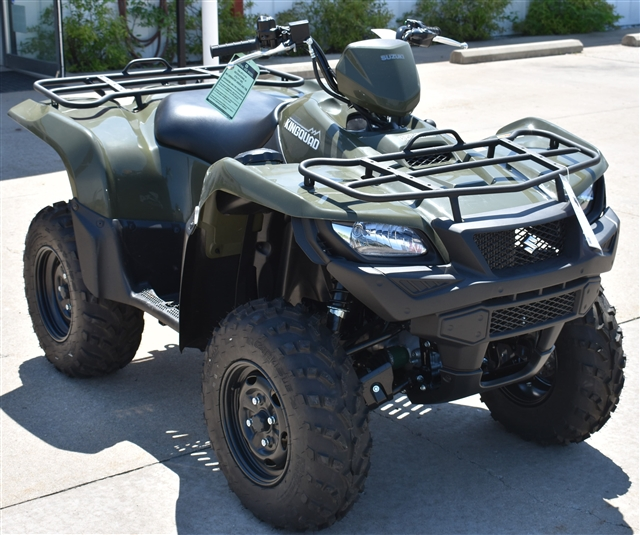 2018 Suzuki KingQuad 750 AXi Power Steering at Lincoln Power Sports, Moscow Mills, MO 63362