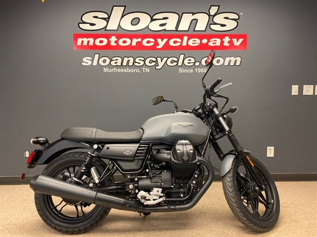 2020 Moto Guzzi V7 III Stone at Sloans Motorcycle ATV, Murfreesboro, TN, 37129