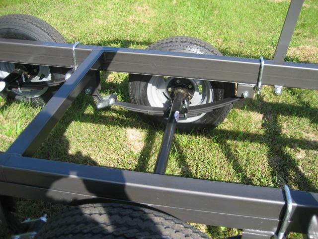 2020 Trophy 24-47 Tandem pontoon trailer at Fort Fremont Marine