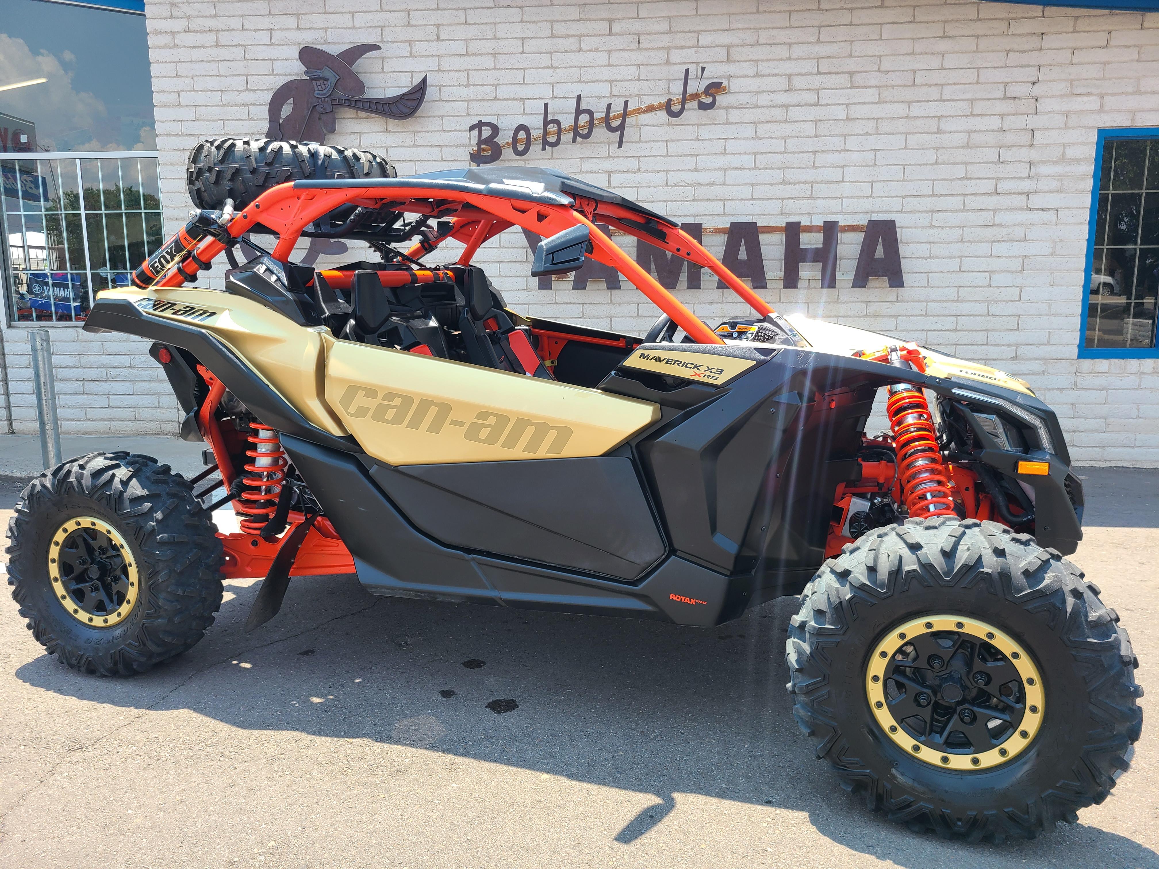 2018 Can-Am Maverick X3 X rs TURBO R at Bobby J's Yamaha, Albuquerque, NM 87110