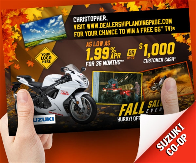 Suzuki Fall Sales Event Powersports at PSM Marketing - Peachtree City, GA 30269