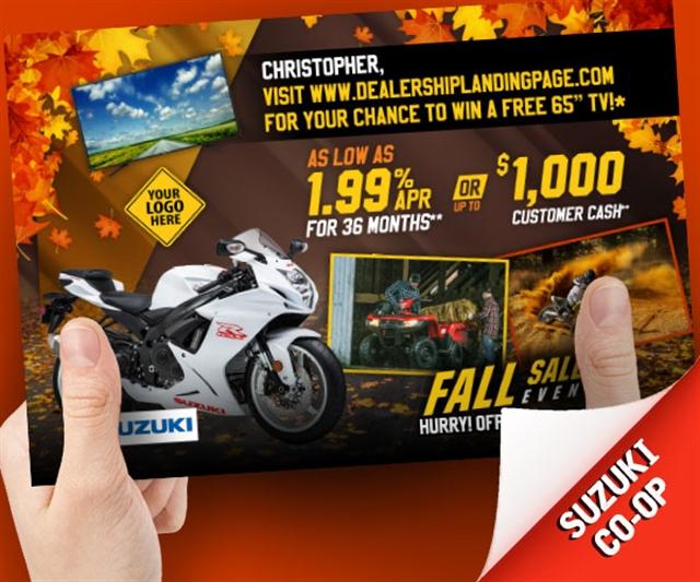 Suzuki Fall Sales Event Powersports at PSM Marketing - Peachtree City, GA 30269