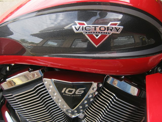 2015 Victory Motorcycles Cross Country Tour Two-Tone Havasu Red Pearl and Black at Brenny's Motorcycle Clinic, Bettendorf, IA 52722