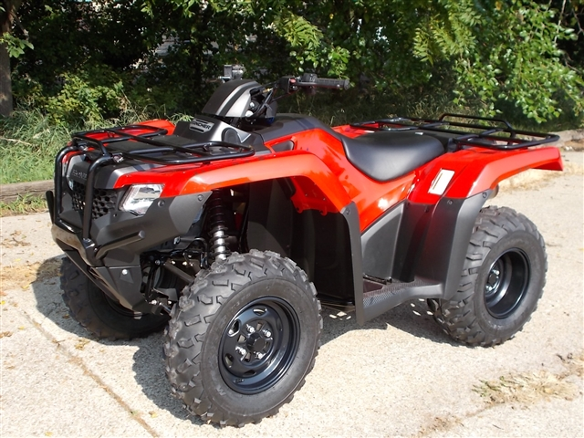 2017 Honda FourTrax Rancher 2WD Foot Shift at Nishna Valley Cycle, Atlantic, IA 50022