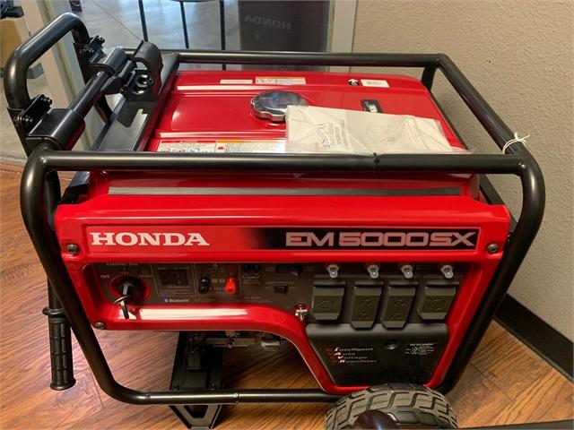 2021 HONDA EM5000SX at Kent Motorsports, New Braunfels, TX 78130