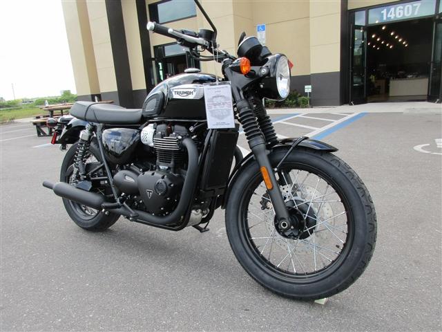 2018 Triumph Bonneville T100 Black at Stu's Motorcycles, Fort Myers, FL 33912