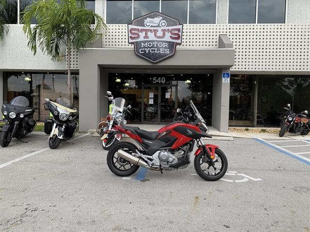2013 Honda NC700X Base at Fort Lauderdale