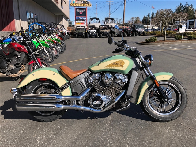 2019 Indian Scout ABS TWO TONE at Lynnwood Motoplex, Lynnwood, WA 98037