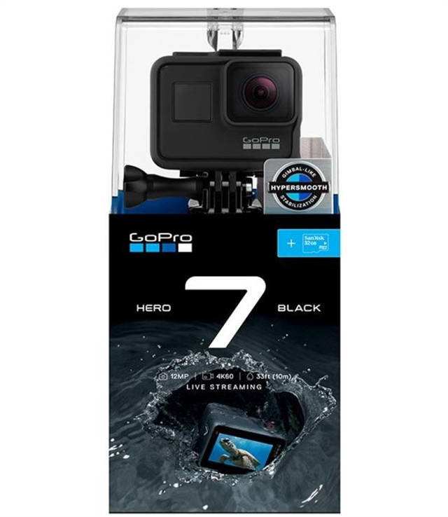 2019 GoPro HERO7 Black Specialty Bundle w/ 32GB SD at Harsh Outdoors, Eaton, CO 80615