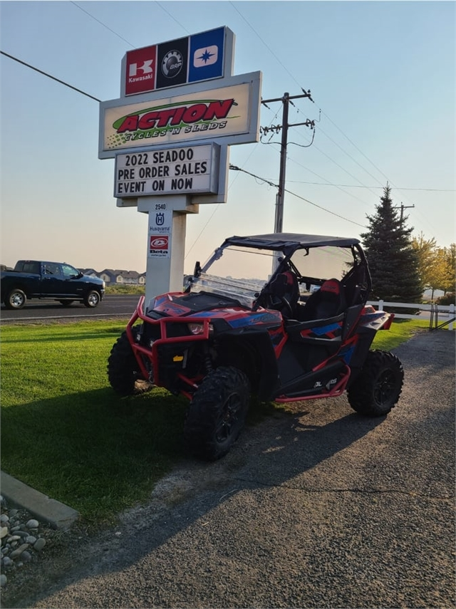 2016 Polaris RZR S 900 EPS at Action Cycles 'n Sleds