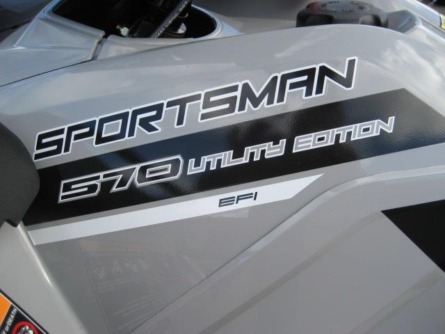 2019 Polaris Sportsman 570 EPS Utility Edition at Fort Fremont Marine, Fremont, WI 54940