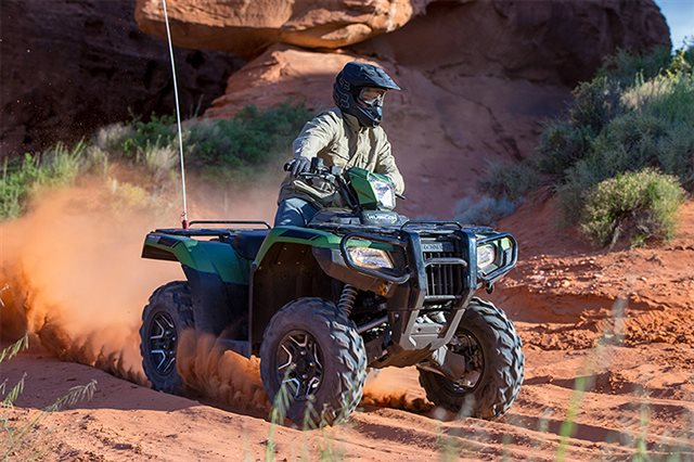 2021 Honda FourTrax Foreman Rubicon 4x4 Automatic DCT 4x4 Automatic DCT at Bay Cycle Sales