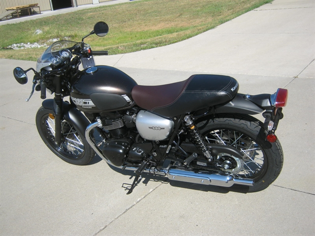 2019 Kawasaki W800 Cafe at Brenny's Motorcycle Clinic, Bettendorf, IA 52722