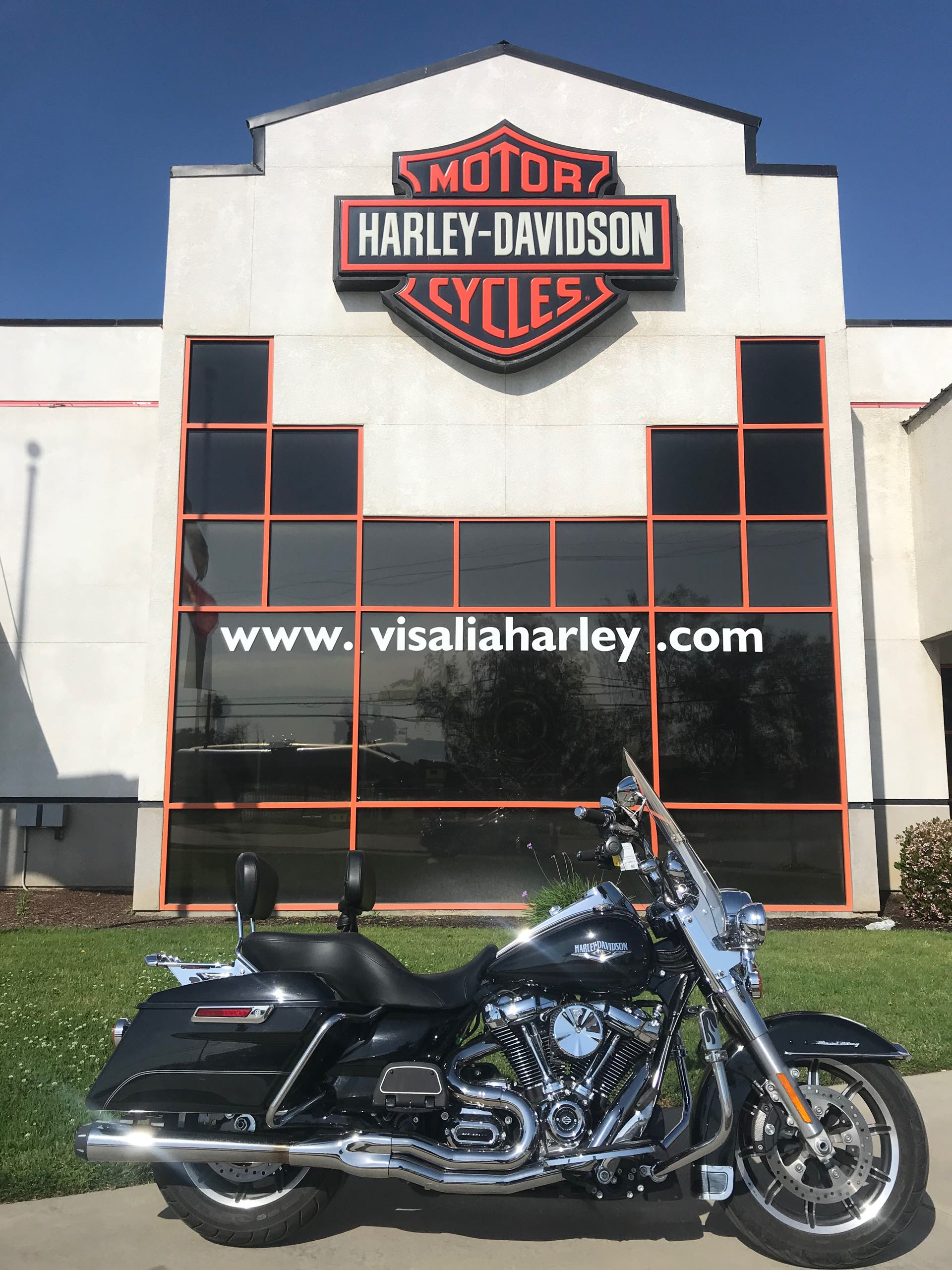 2017 Harley-Davidson Road King Base at Visalia Harley-Davidson