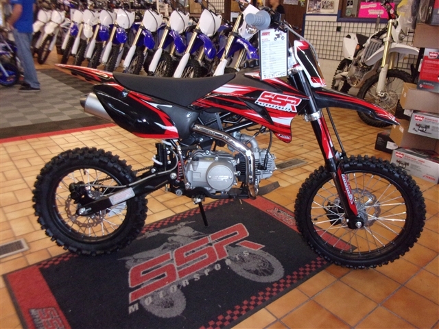2019 SSR Motorsports TR Series SR125TR BW at Bobby J's Yamaha, Albuquerque, NM 87110