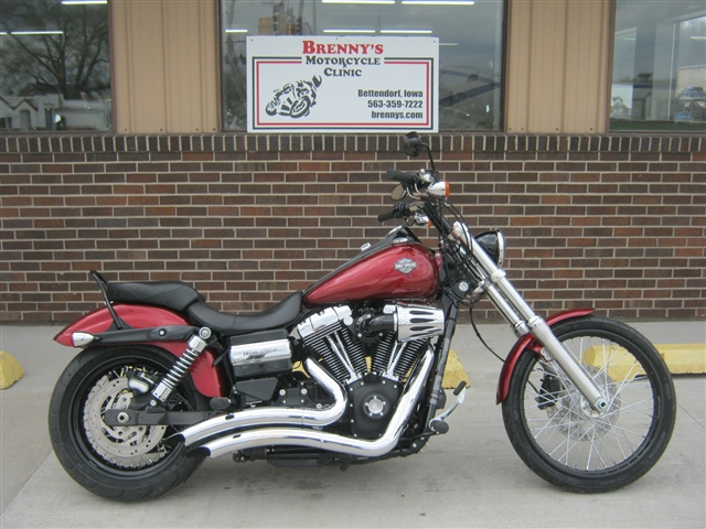2016 Harley-Davidson FXDWG Dyna Wide Glide at Brenny's Motorcycle Clinic, Bettendorf, IA 52722
