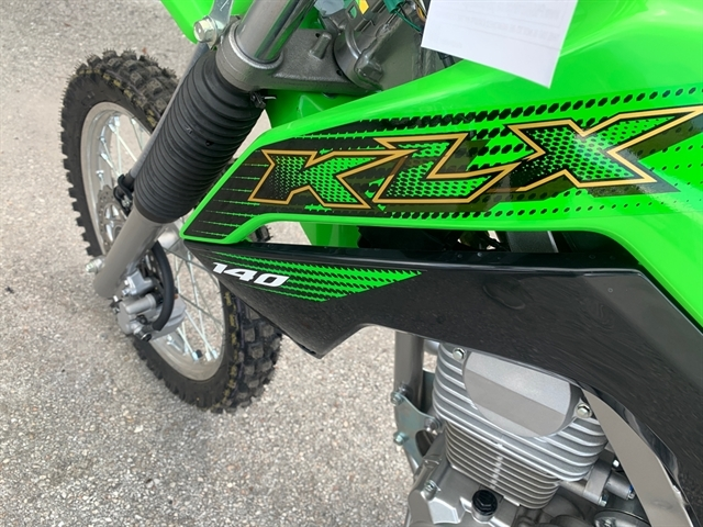 2020 Kawasaki KLX 140 at Jacksonville Powersports, Jacksonville, FL 32225