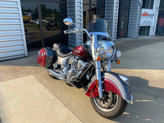 2019 Indian Springfield Base at Shreveport Cycles